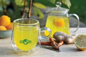 Đánh tan stress với viên trà nghệ gừng chanh
